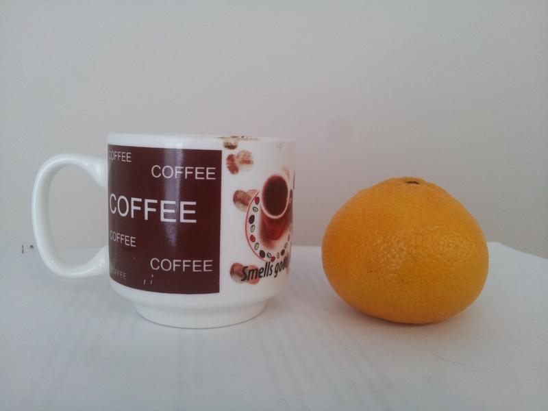 Mandarina i kafa